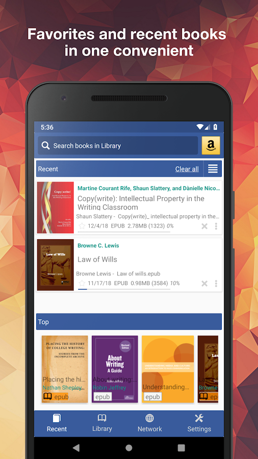 KReader read for kindle file, pdf and all formats 3 2 3 APK