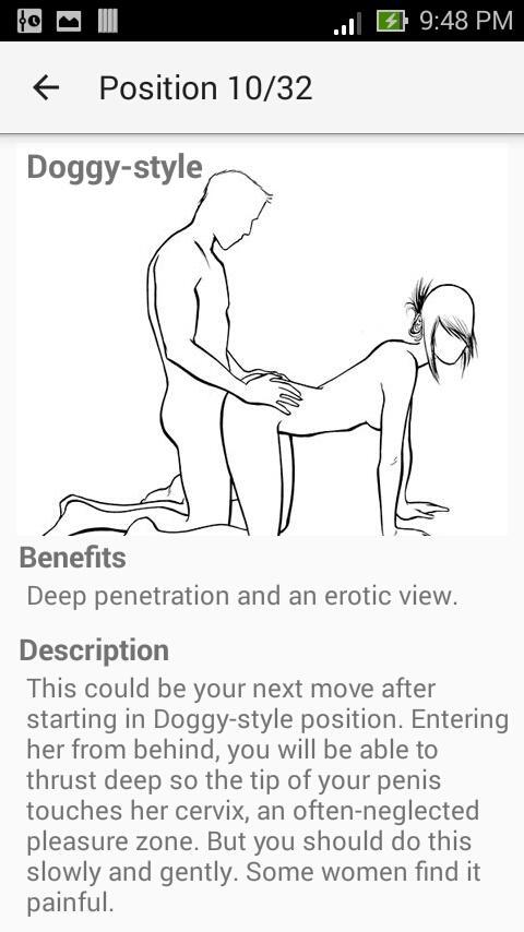 ... Kamasutra sex positions & tips 3.8 screenshot 3 ...