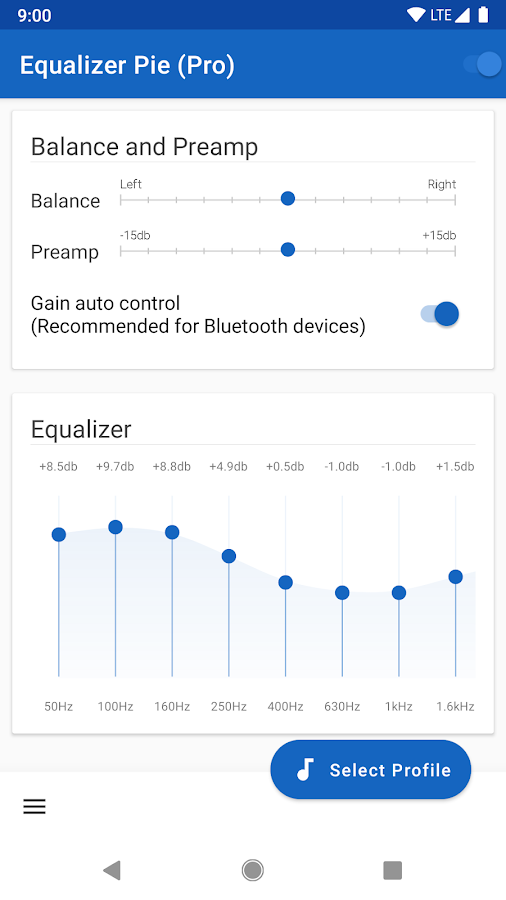 Equalizer Pie (Pro) 1 0 6 APK Download - Android Music
