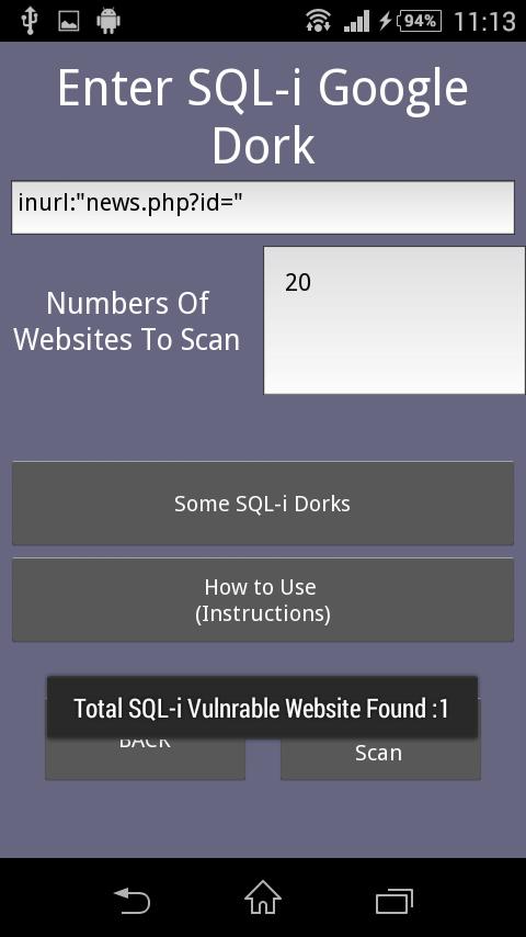 Web SQL-i 1 0 APK Download - Android Tools Apps