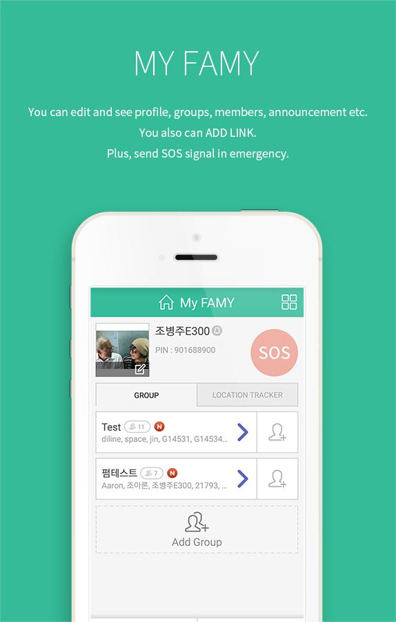 FAMY - family chat & location 5 23 APK Download - Android