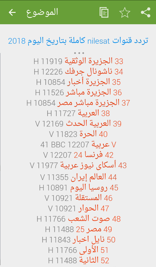 com taradodat kanawat frequency nilesat 1 0 APK Download - Android