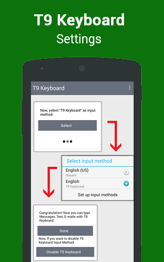 T9 Keyboard - English to T9 Typing Input 1 0 APK Download - Android