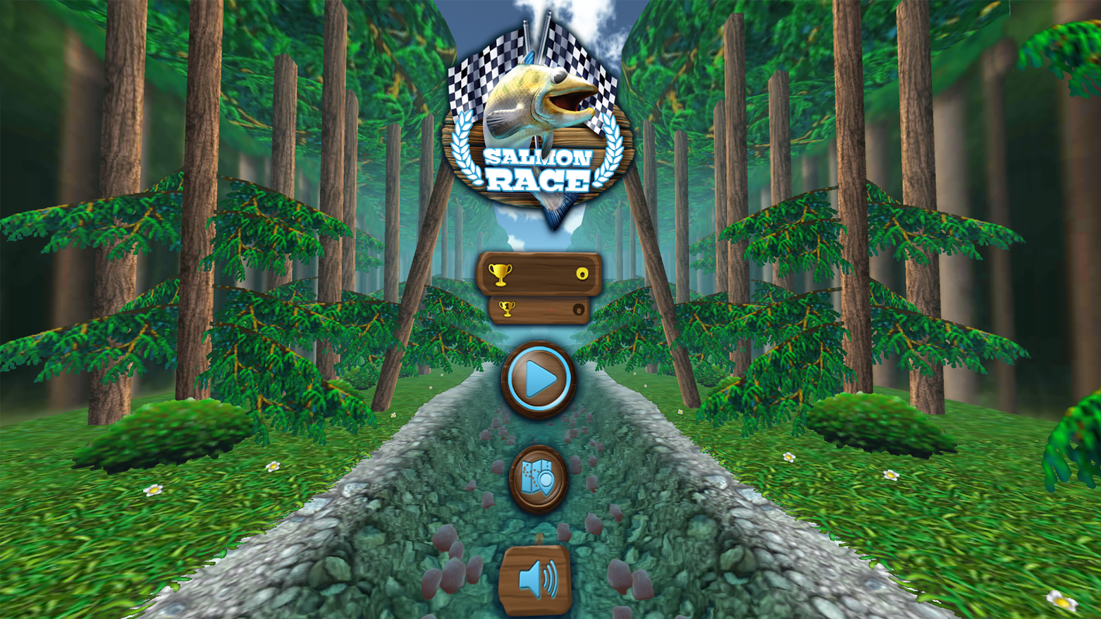 Salmon Race VR 1 0 19168 APK Download - Android Arcade Games