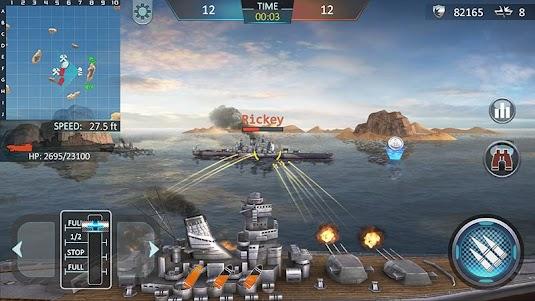 Warship Attack 3D 1.0.6 screenshot 1