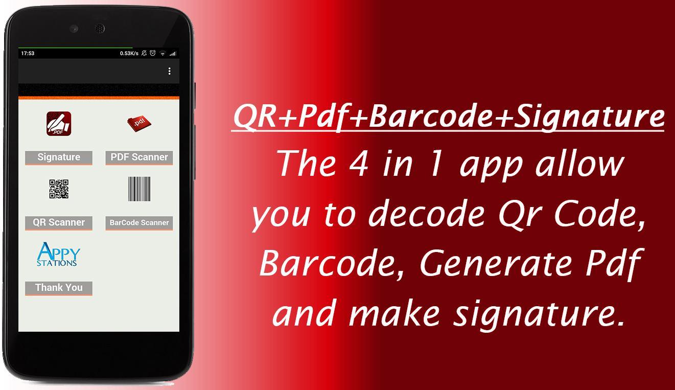 Barcode Scanner Qr Scanner PDF Free App 2019 1 6 APK