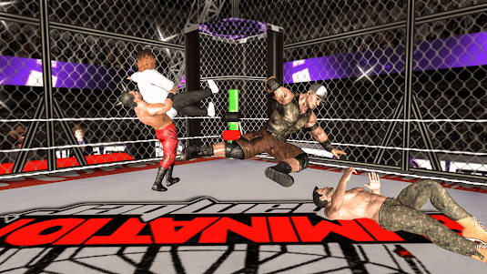 Chamber Wrestling Elimination Match: Fighting Game 1.2 screenshot 13