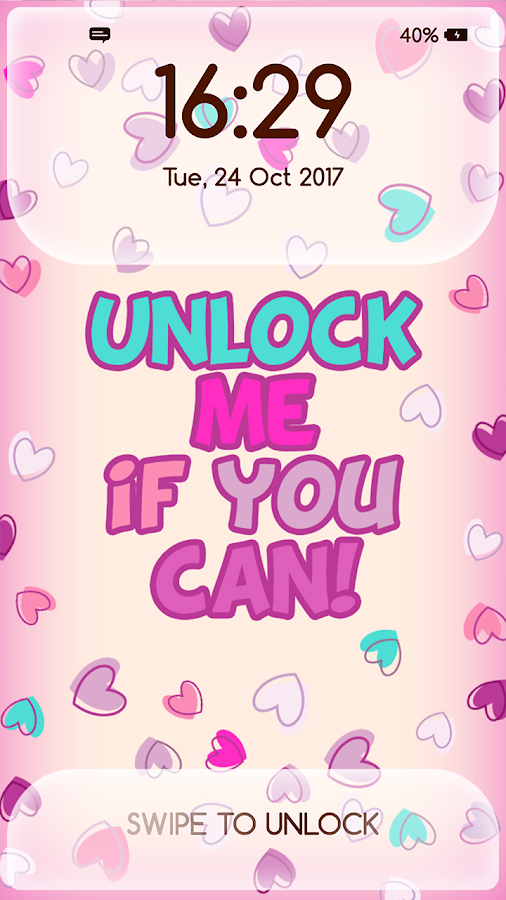 Girly Lock Screen Wallpaper With Quotes 3 0 Apk Download Android