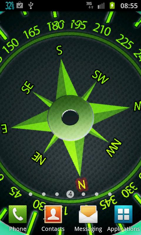 Easy Compass Live Wallpaper 104 Screenshot 2