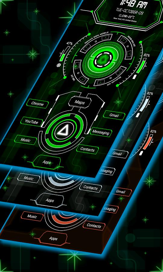Circuit Launcher 2 - Next Generation Theme 2019 12 0 APK Download