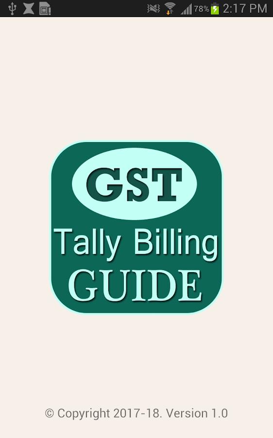 GST Tally Billing Software & ERP Guide Video App 1 0 APK