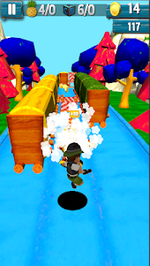 Fast Ben 10 Level Jungle Run 1.2 screenshot 4