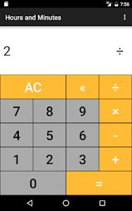 Hours & Minutes Calculator 1.3 screenshot 13