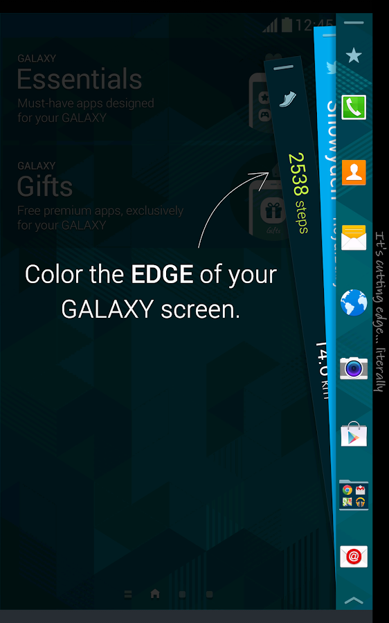Edge Navigation Pro APK Download - Android Personalization Apps