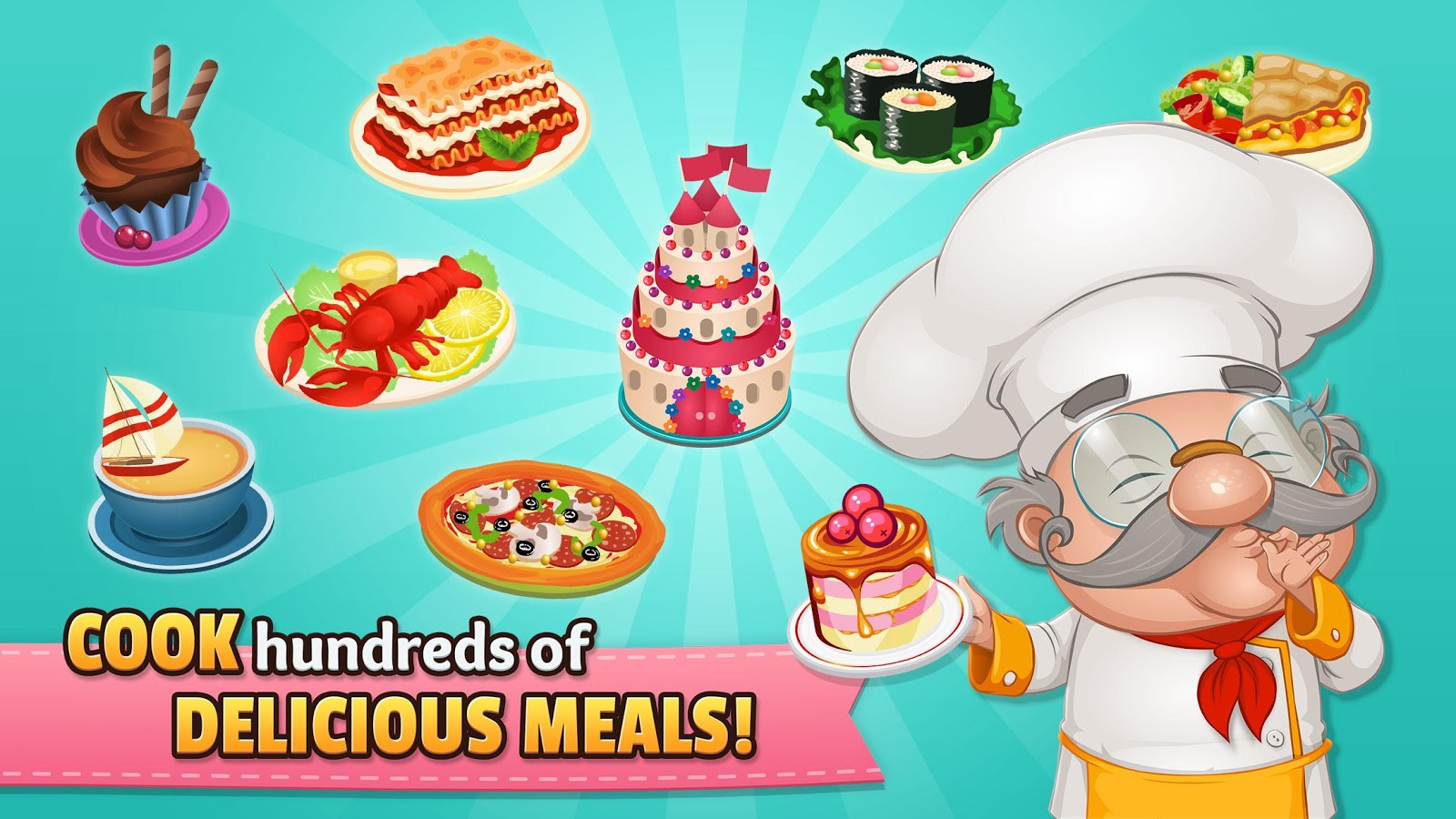 Cafeland - World Kitchen 1.9.2 APK Download - Android Casual Games