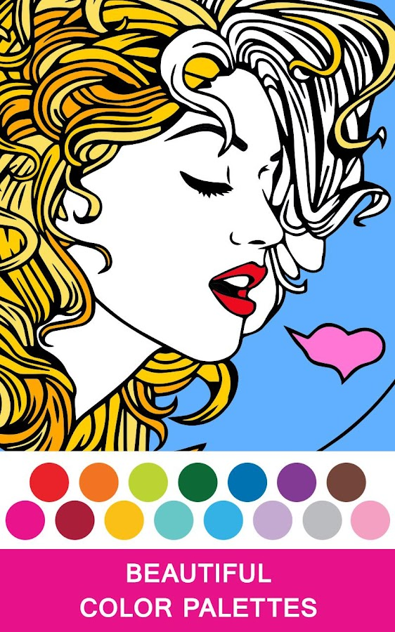 Colorfy Adult Coloring Book 10 Screenshot 5