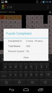 Crossword Puzzle 1.4.15 screenshot 6