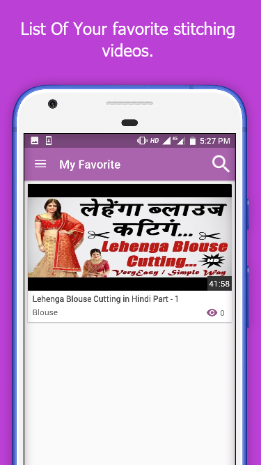Cutting And Stitching Video/Tailoring Course Hindi 1 2 APK
