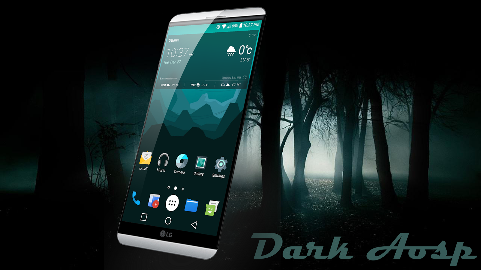 Dark Aosp Theme for LG V20 G5 1 0 2 APK Download - Android