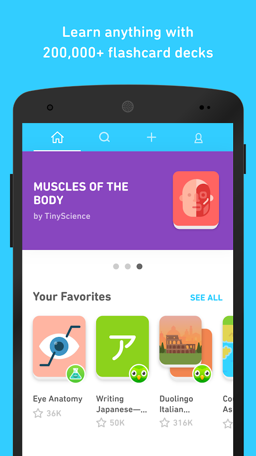 Tinycards by Duolingo: Fun & Free Flashcards 1 0 APK