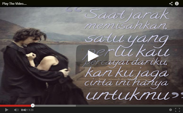 Video Kata Kata Romantis Buat Pacar