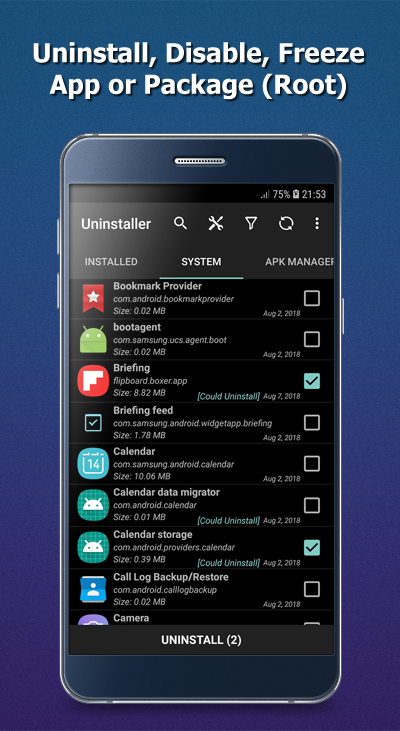 System app uninstall apk | How To Uninstall System Apps on
