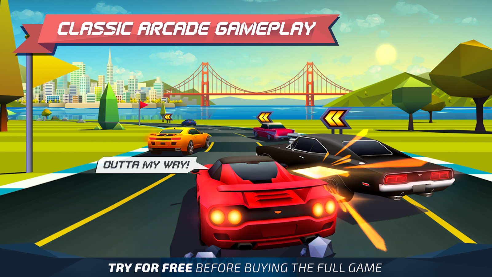Horizon Chase - World Tour 1 6 2 APK + OBB (Data File