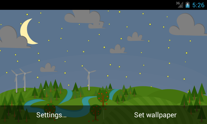 ... Paperland Free Live Wallpapers 1.0 screenshot 2 ...