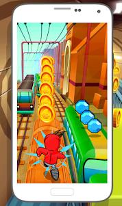 Subway Soni Frozen Running 1.0 screenshot 1