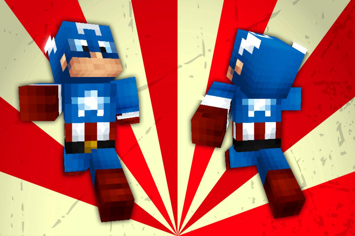 майнкрафт скины супергероев #5