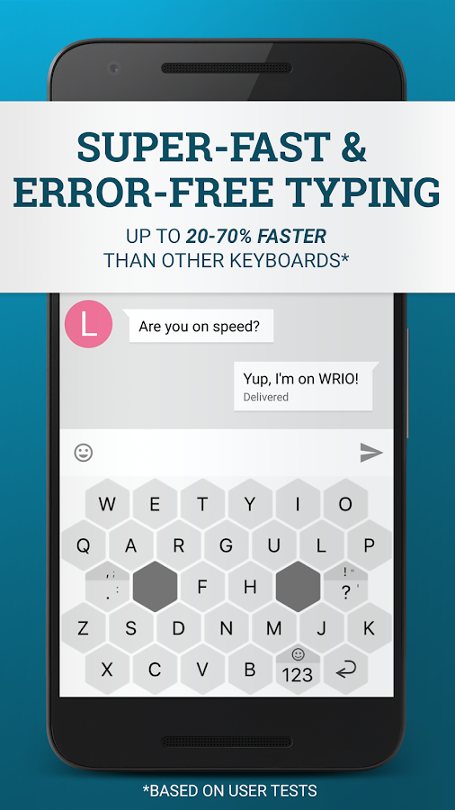 WRIO Keyboard (+2500 emoji) 1 4 2 APK Download - Android