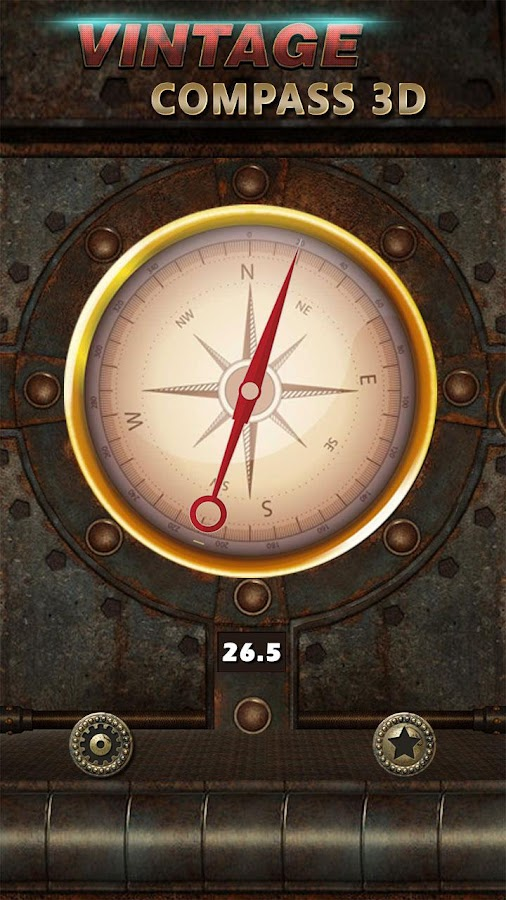 Vintage Compass App for Android: Find True North 1 5 APK Download