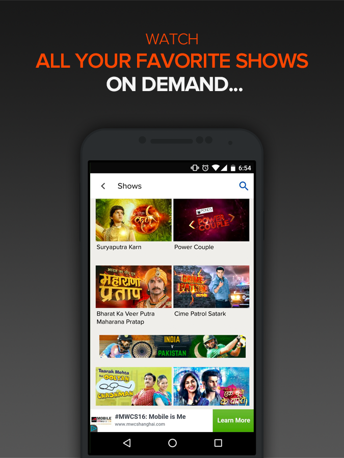 SonyLIV - Shows Movies Sports 4 0 2 APK Download - Android