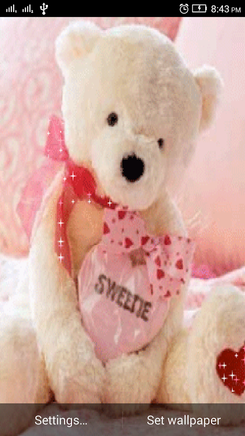Teddy Bear Live Wallpaper 3d 1 3 Apk Download Android