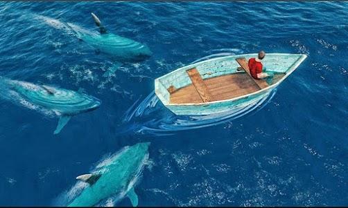 Underwater Whale Shark Sniper Hunter 3D 2018 1.0 screenshot 3