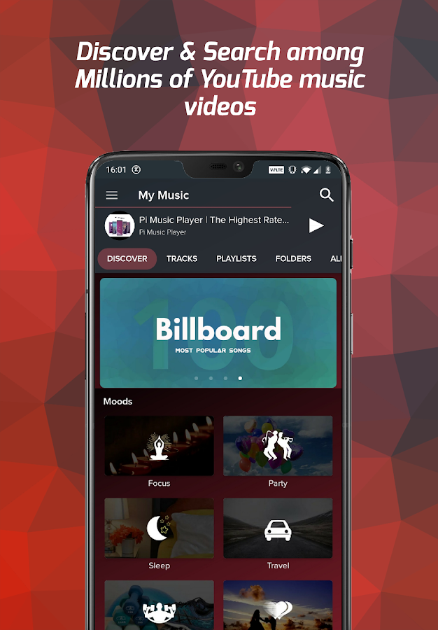 Pi Music Player - MP3 Player, YouTube Music Videos APK