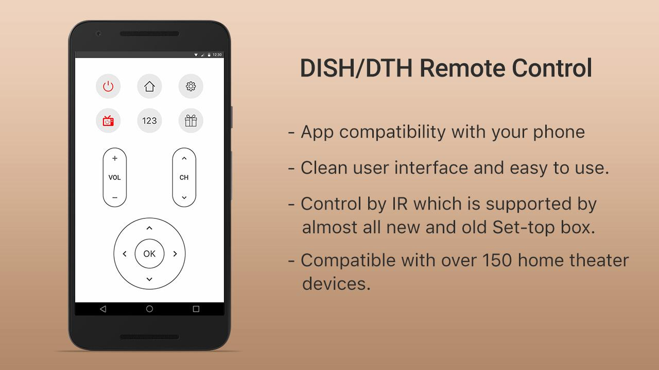 DISH/DTH Universal TV Remote 1 1 APK Download - Android Tools Apps