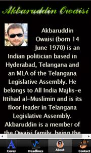 Akbaruddin Owaisi - AIMIM 1.0 screenshot 6
