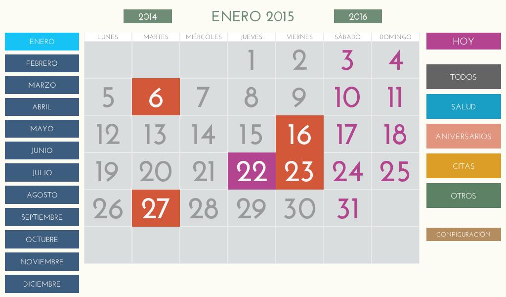 Calendario Android.Calendario Facil Para Android 8 1 Apk Download Android