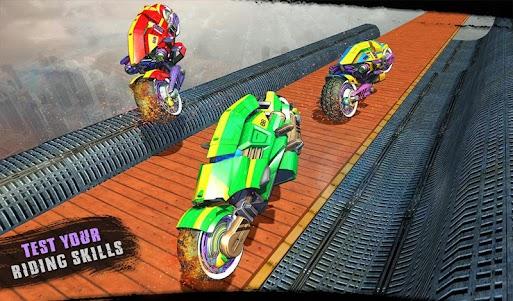 Impossible Moto Bike Tracks Robot Transformation 1.0 screenshot 17