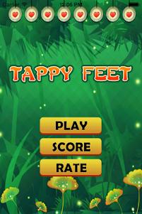Tappy Feet 1.0 screenshot 1