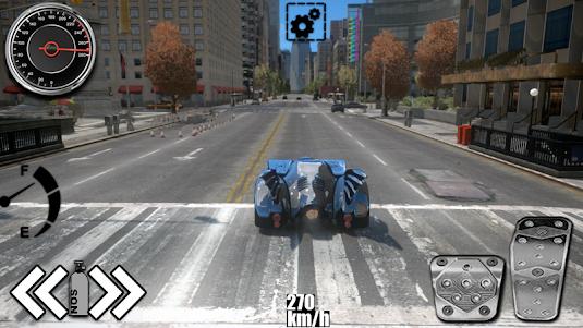 Driving The Batmobile 1.1 screenshot 4