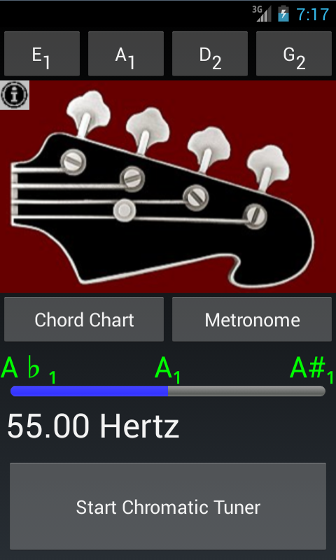 Bass Guitar Tuner N Chords 2.1 APK Download - Android Media & Video Apps