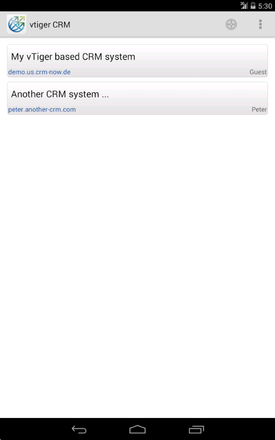 Mobile Client/VMC for vTiger™ 1 21 APK Download - Android