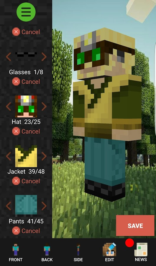Custom Skin Creator Minecraft APK Download Android Entertainment Apps - Skins para minecraft 1 8 x