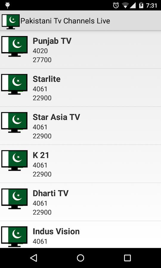 Pakistani Tv Channels Live 2 1 APK Download - Android