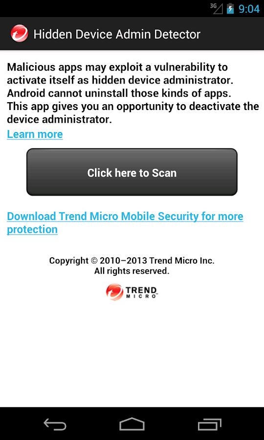 Hidden Device Admin Detector 1 0 APK Download - Android Tools Apps