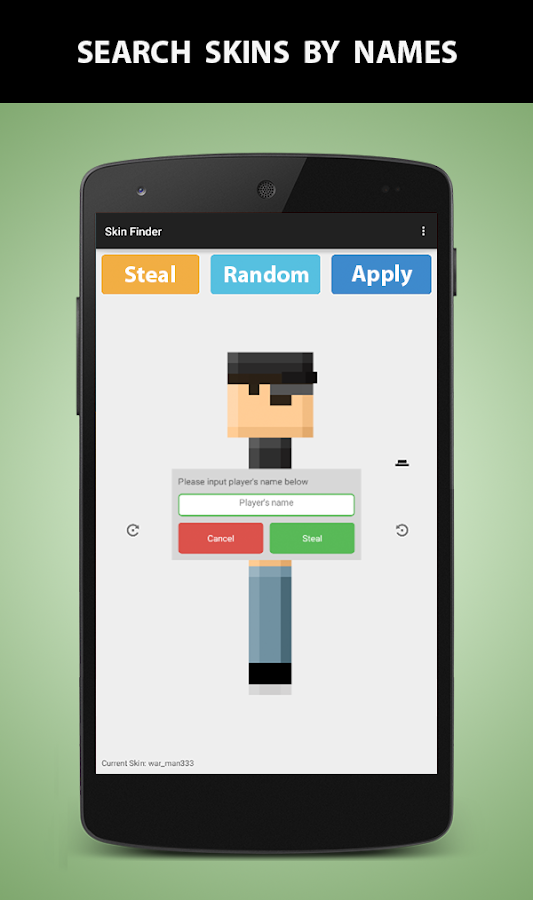 Skin Finder For Minecraft 200 Apk Download Android Tools