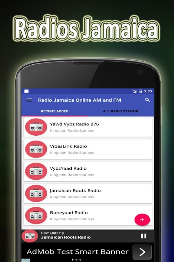 Radio Jamaica Online AM & FM 1 0 APK Download - Android