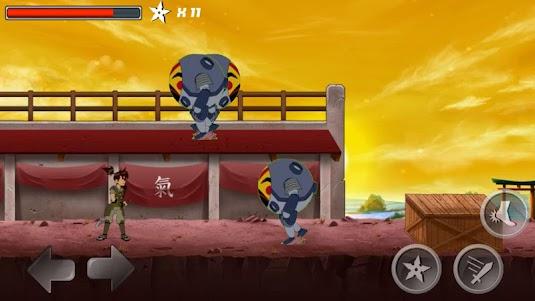 Ben Samurai - Ultimate Alien 1.0 screenshot 4